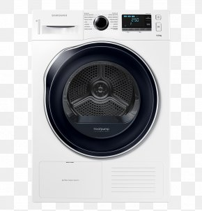 Home Appliance - Clothes Dryer Home Appliance Samsung Heat Pump Condenser PNG