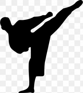 Karate - Karate Martial Arts Silhouette Clip Art PNG