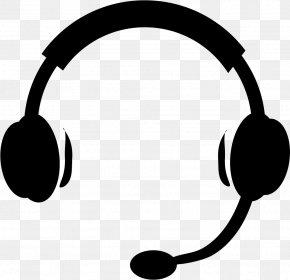 Hedset Sign - Communication Clip Art Headphones PNG