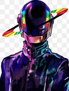 Daft Punk - Daft Punk Fan Art Tron: Legacy Random Access Memories PNG