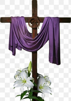 Easter Cross - Easter Religion Greeting & Note Cards Christianity PNG