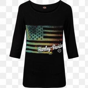 T-shirt - T-shirt Harley-Davidson Sleeve Clothing PNG