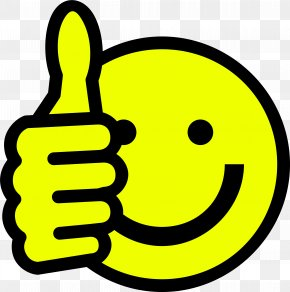 Smiley - Thumb Signal Smiley Emoticon Clip Art PNG