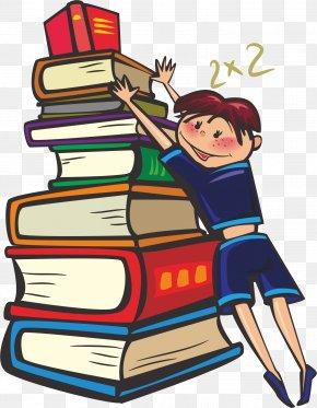 Dictionary Kids - Student School Teacher Clip Art PNG