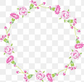 Picture Frame Plant - Watercolor Floral Frame PNG