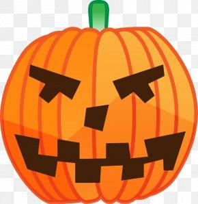 Halloween Pumpkin - Jack-o-lantern Calabaza Halloween Pumpkin Cucurbita PNG