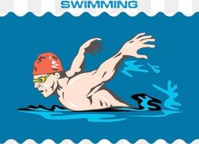 Swimming Competiton - Mammal Text Human Behavior Clip Art PNG