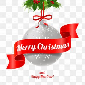 Happy New Year Transparent Background - Christmas New Years Day PNG