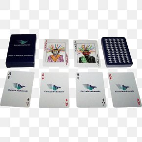 Playing Card - Playing Card Garuda Indonesia Card Game Airline Swissair PNG