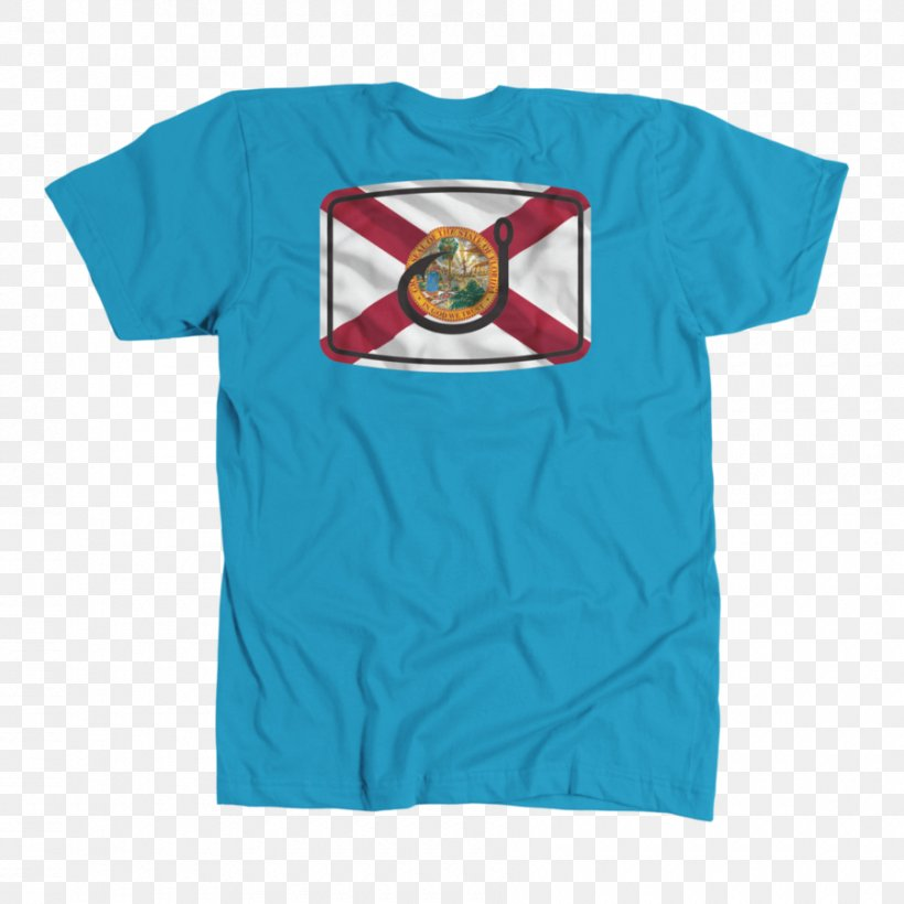 T-shirt Florida Sleeve Clothing, PNG, 900x900px, Tshirt, Active Shirt, Blue, Clothing, Dress Download Free