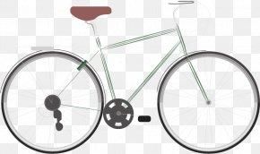 Vector Bicycle - Bicycle Wheel Car Hybrid Bicycle PNG