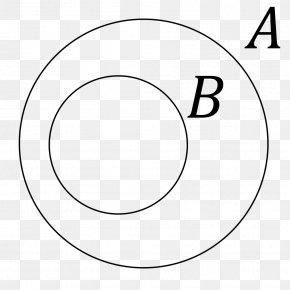 Mathematics - Venn Diagram Subset Euler Diagram Mathematics PNG