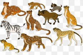 Cheetah - Cheetah Leopard Lion Jaguar Cat PNG