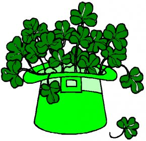 Pictures Of St Patrick Day - Ireland Saint Patricks Day Shamrock Irish People Clip Art PNG