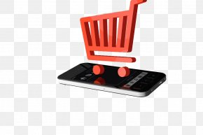 Shopping Cart Mobile Phone Network - Online Shopping Retail E-commerce Taobao PNG