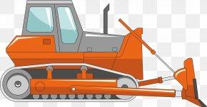 Construction Machinery Crawler Bulldozer - Bulldozer Architectural Engineering Euclidean Vector Heavy Equipment PNG