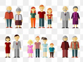 Cartoon Family - Family Tree Father Illustration PNG