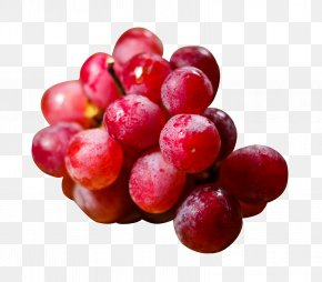 Red Grapes - Juice Grape Red Globe Apple PNG