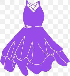 Dress - Dress Purple Clothing Clip Art PNG
