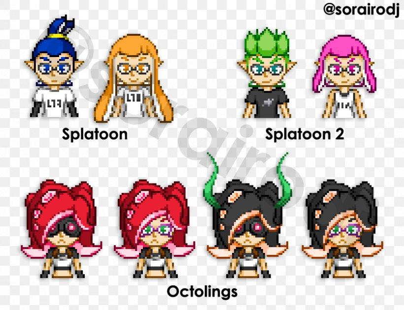 Splatoon 2 Pixel Art Png 834x641px Splatoon 2 Art Arts