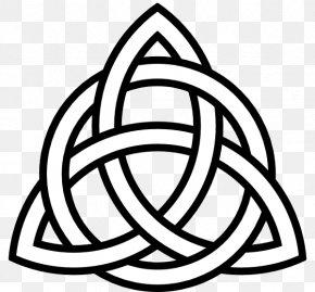 Celtic Knot - Celtic Knot Triquetra Celts Clip Art PNG