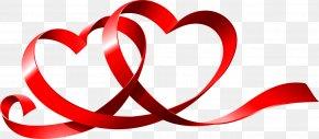 Love Ribbon - Valentines Day Love Romance Wish Girlfriend PNG