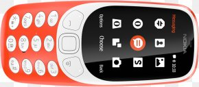 Nokia 3310 - Feature Phone Nokia 3310 Telephone Clamshell Design PNG