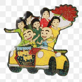 Cartoon Raya Souvenir PNG