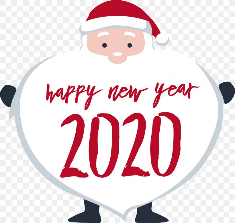 Happy New Year 2020 New Years 2020 2020, PNG, 3000x2855px, 2020, Happy New Year 2020, Christmas, New Years 2020, Santa Claus Download Free