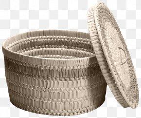Bamboo Basket Storage - Basket Hamper Blog Clip Art PNG