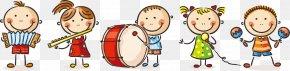 61 Cute Cartoon Kids Playing - Child Cartoon Play Drawing PNG