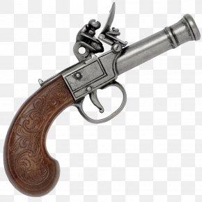 Pirate Map - Trigger Flintlock Firearm Revolver Pistol PNG
