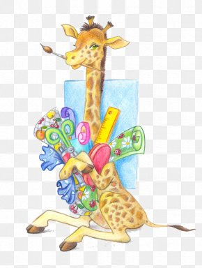 Giraffe - Northern Giraffe Lion Clip Art PNG