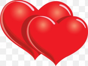 Red Love Heart Pictures - Valentine's Day Heart Gift Clip Art PNG