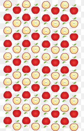 Hand Painted Red Apple Vector - Pump Groundwater Industry Euclidean Vector PNG