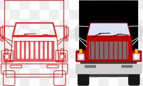 Car Shapes Cliparts - Car Truck Animation Clip Art PNG