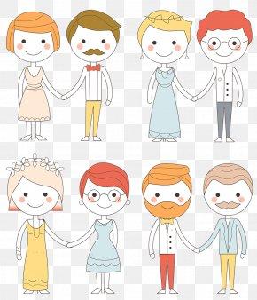 Bride Groom - Cheek Human Behavior Homo Sapiens Clip Art PNG