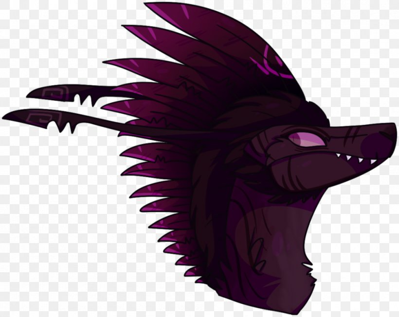 Illustration Purple Legendary Creature, PNG, 1001x797px, Purple, Animation, Costume Accessory, Fictional Character, Head Download Free