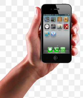 Iphone In Hand Transparent Image - IPhone 4 IPhone 8 IPhone 5 PNG