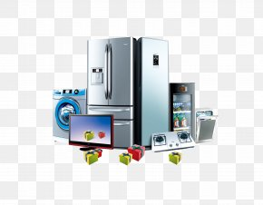 Home Appliances Collection - Air Conditioner Control Home Appliance Electricity Refrigerator PNG