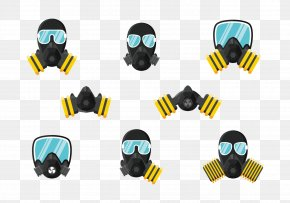 Gas Mask - Gas Mask Respirator PNG