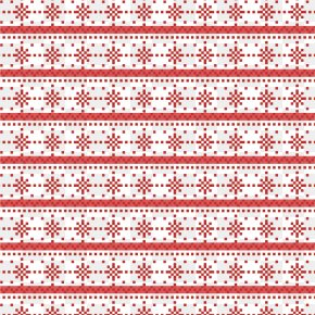 Little Red Snowflakes Vector Background Design - Snowflake Euclidean Vector PNG
