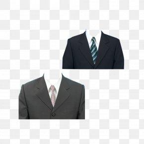Black Suit Jacket FIG. - Suit Tuxedo Formal Wear PNG