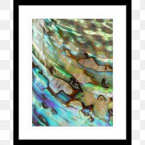 Wall Paintings - Modern Art Painting Teal Organism PNG