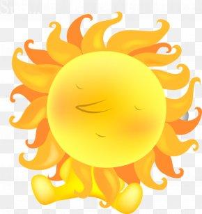 Cartoon Cute Summer Hot Sun PNG