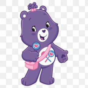 Cartoon Character - Grumpy Bear Care Bears Cheer Bear PNG