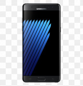 Samsung Galaxy Note 7 Smartphone PNG