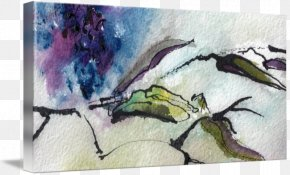 Ink Watercolor Painting - Watercolor Painting Drawing Modern Art PNG