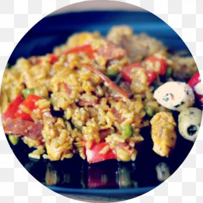 Paella - Spanish Cuisine Paella Frying Recipe Food PNG