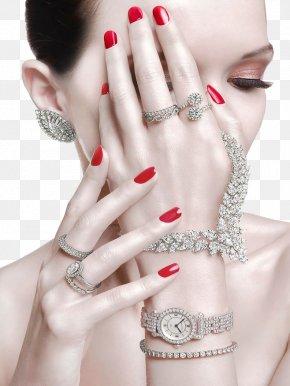 Jewelry Model - Jewellery Bijin Model Ring PNG